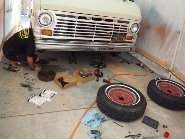 bremsen überholen 1024x768 640x480 - Ausbau Van /  Van Conversion