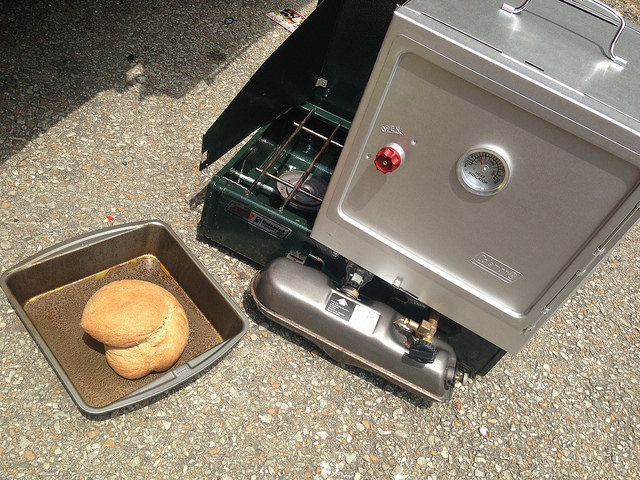 coleman oven - Pizza Recipe