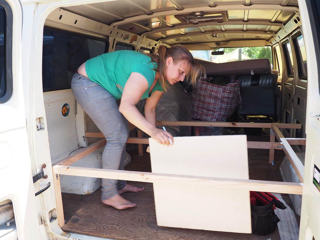 passt das - Ausbau Van /  Van Conversion